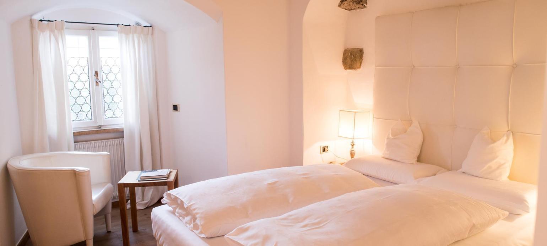 Camere A Fie Allo Sciliar Romantik Hotel Turm Mini Camere Nella Torre Camera Doppia